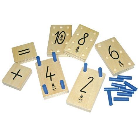 Zahlenstecktafeln