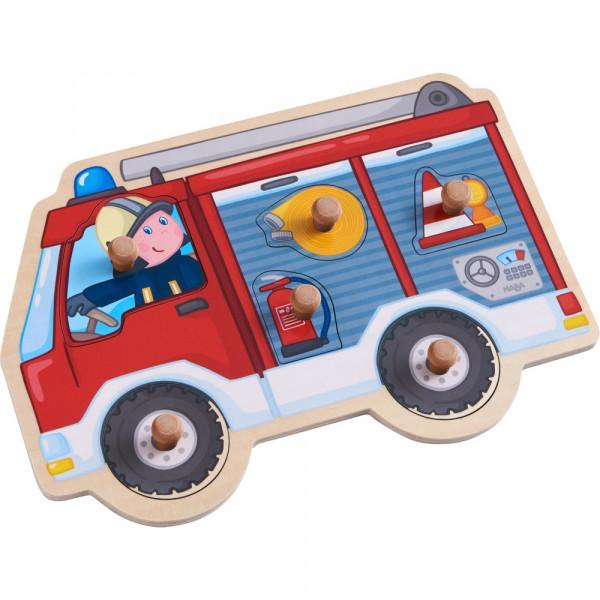 HABA Greifpuzzle Feuerwehrauto