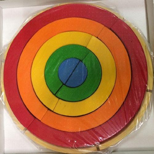 Regenbogenkreis im Rahmen