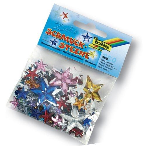 Schmucksteine Sterne