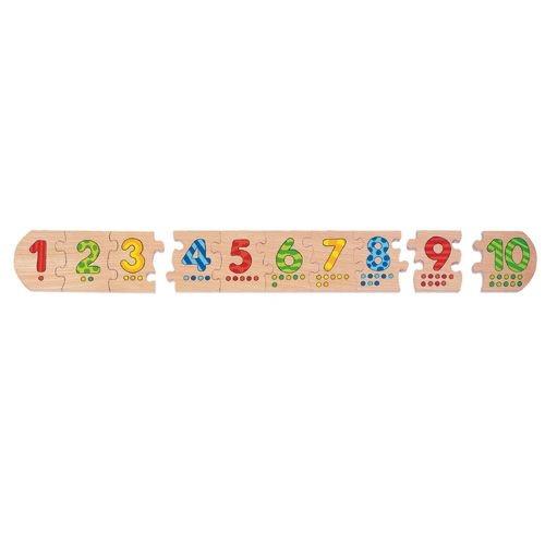 "Puzzle ""Zahlen-Reihe 1-10"""