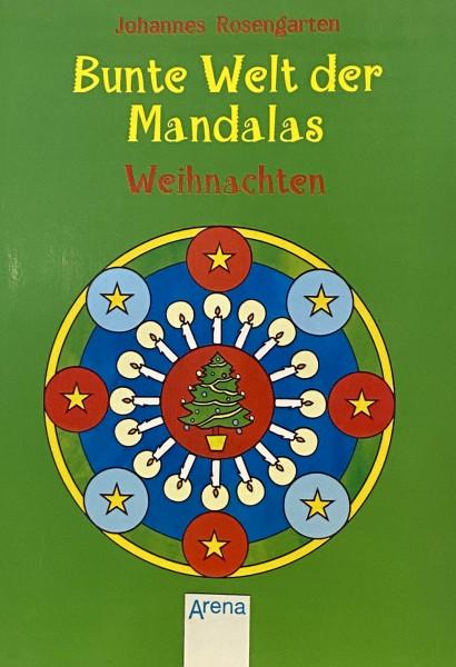 Bunte Welt der Mandalas Weihnachten