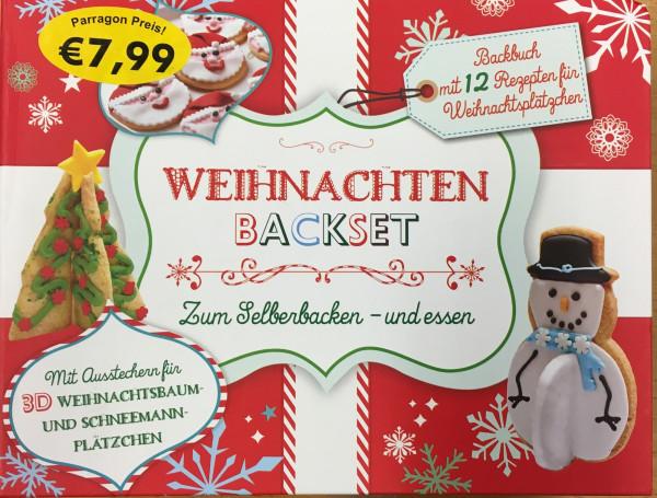 Backset Weihnachten - Zum Selberbacken und essen