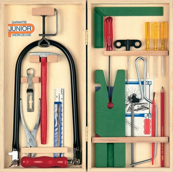 Laubsäge-Werkzeugkasten