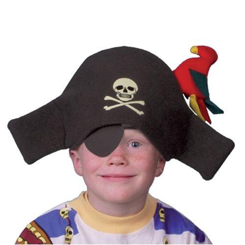 Piratenhut mit Augenklappe