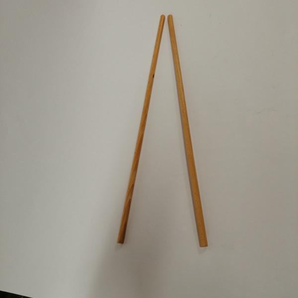 Holzschlägel für Trommel, ca. 30 cm
