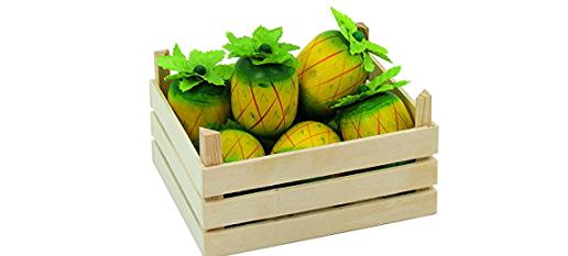 Ananas in Stiege 7teilig