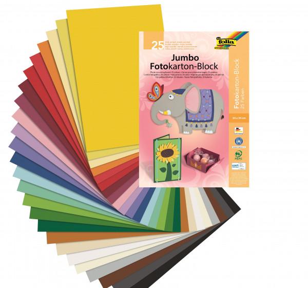 Jumbo-Fotokartonblock