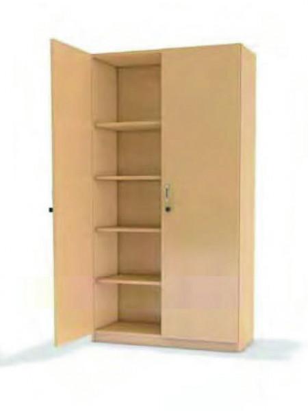 Hochschrank m. Doppeltür, 8 Einlegeböden