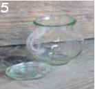 Einmachglas 1/4 Schmuck, Ø 60 mm