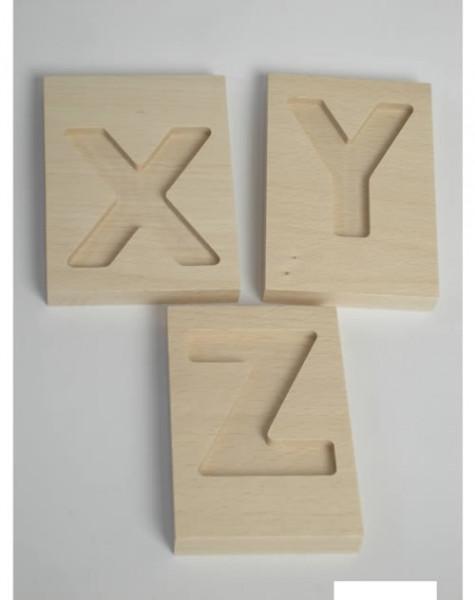 HABA Kleinbuchstaben aus Holz (Tafeln)