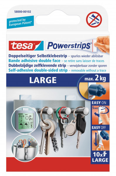 tesa Power-Strips,10 Strips