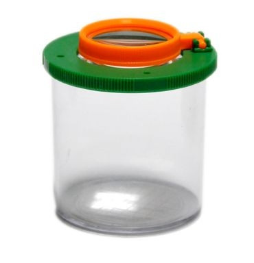 Lupendose / Vergrößerungsglas