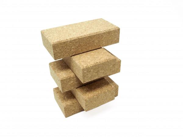 Bausteine aus Kork 12 x 6 x 3 cm, 64 Stück