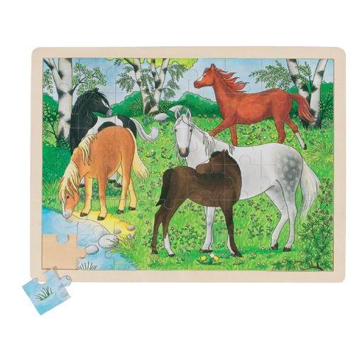 """Einlegepuzzle """"Ponyhof"""""""
