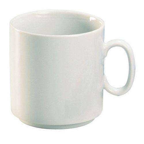 Porzellan-Tasse, Pott, weiß