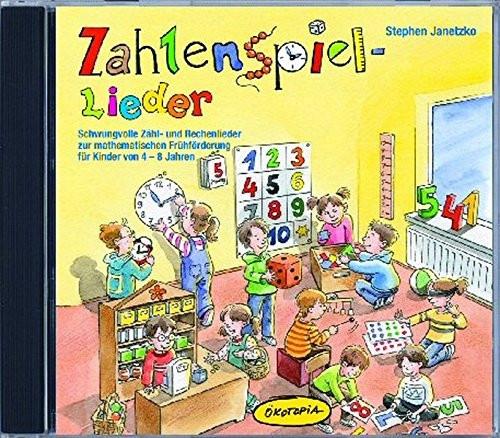 Zahlenspiel-Lieder CD