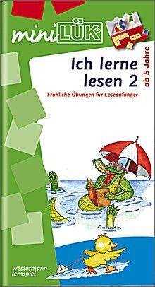mini LÜK Ich lerne lesen 2
