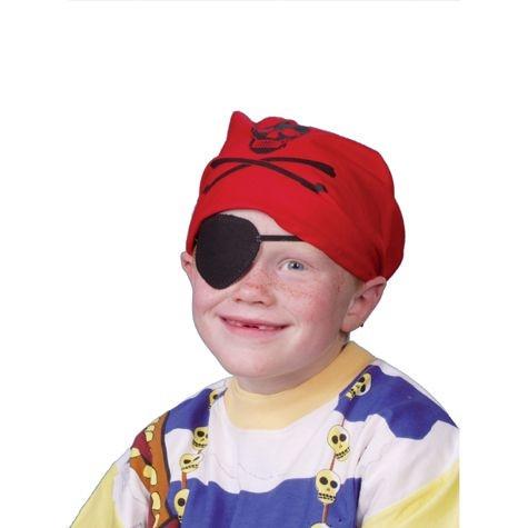 Piratenkopftuch,3-9 Jahre, Baumwolles