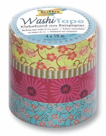 Washi Tape 4er Set