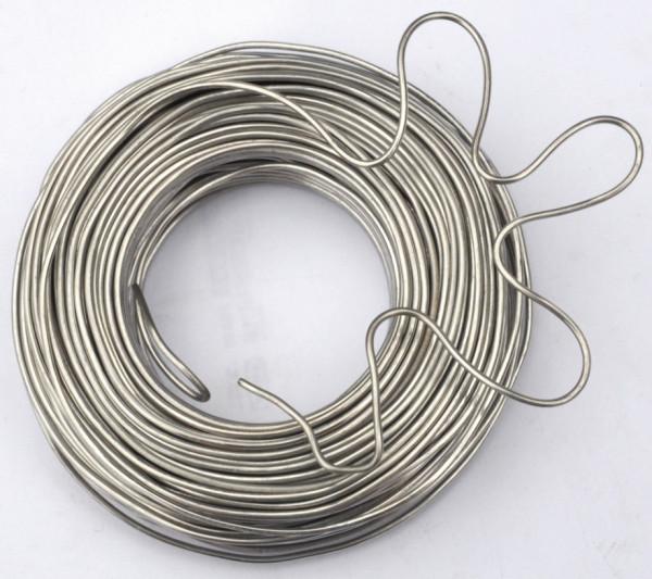 Aluminiumdraht, silber, 50m