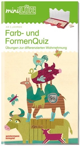 mini LÜK Farb- und Formen Quiz
