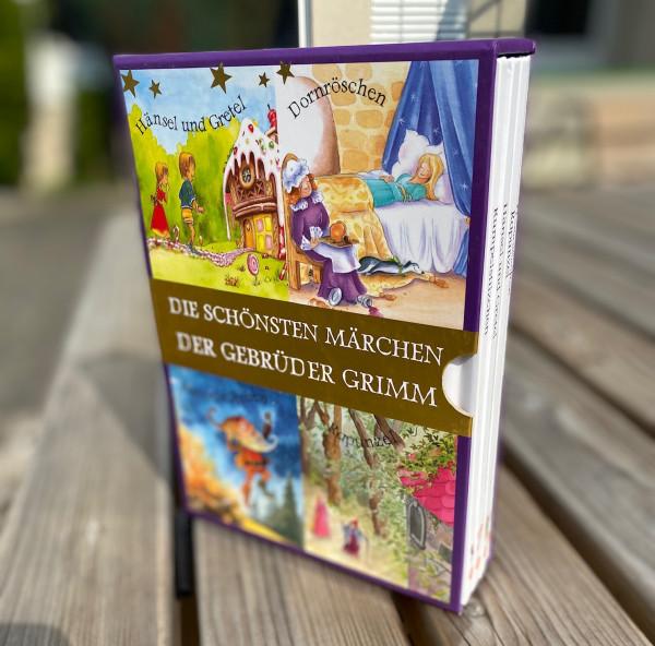 Die schönsten Märchen der Gebrüder Grimm- 4 Bücher