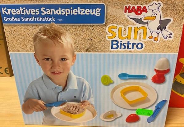 HABA Sun Bistro Großes Sandfrühstück
