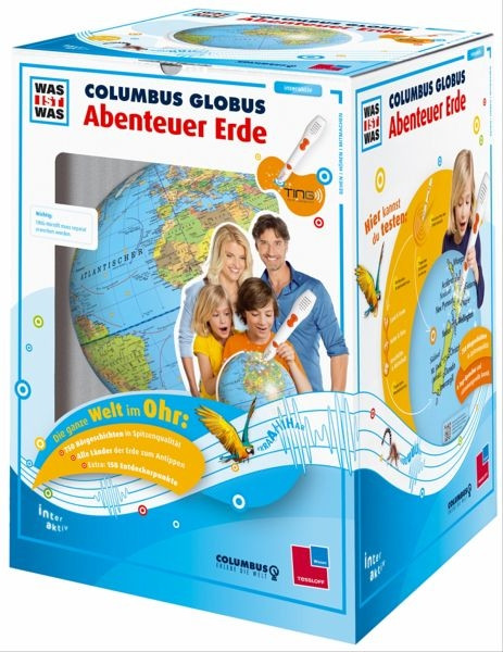 Starterset Columbus Globus Abenteuer Erde