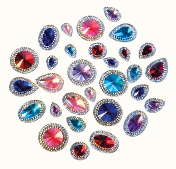 Kristallsteine Deluxe 100 Stück