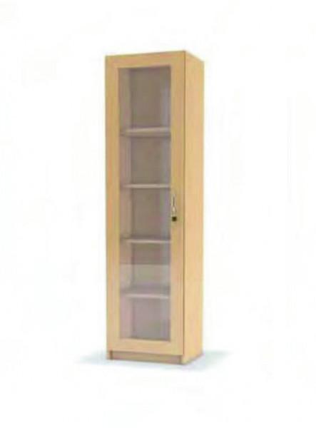Hochschrank, Tür Glasausschnitt, Tür li/re