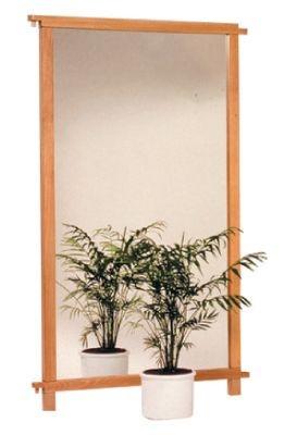 Raumteiler Spiegel- / Korkwand