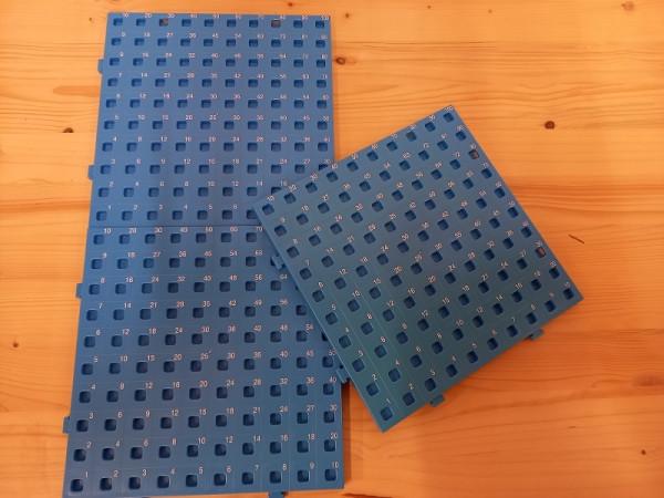Rechen-Steckbretter 3 x 100 Felder