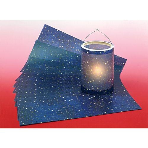Sternenhimmel Transparentpapier