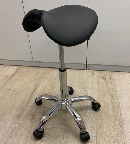 Sattelsitz mit Aussparung, Sitzhöhe ca. 52-72 cm