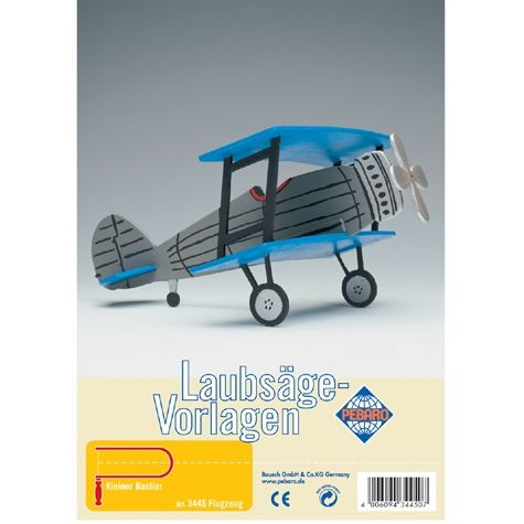 Laubsäge-Vorlage Flugzeuge