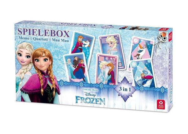 """Disney """"Frozen"""" 3 in 1 Spielebox"""