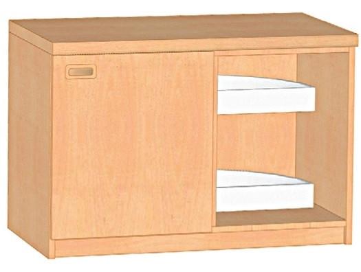 Küchen-Eckunterschrank für Ecke rechts