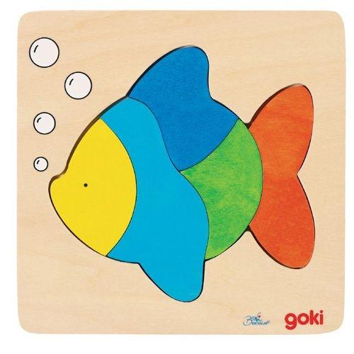 """Einlegepuzzle """"Fisch"""", 5-teilig"""