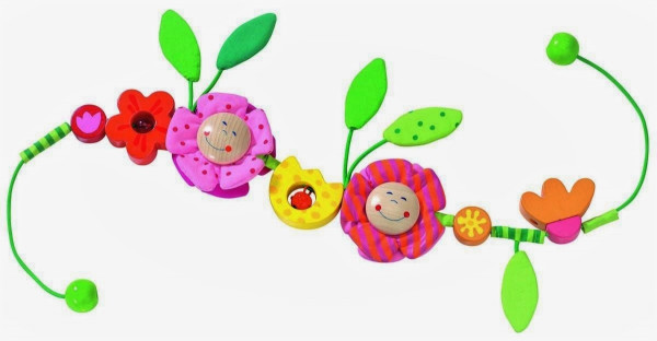 """Kinderwagenkette """"Blüten"""""""