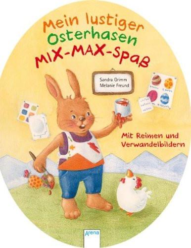 Mein lustiger Osterhasen Mix-Max-Spaß