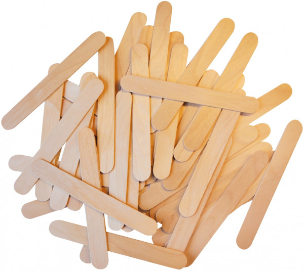 Holzstäbchen natur 100 Stück