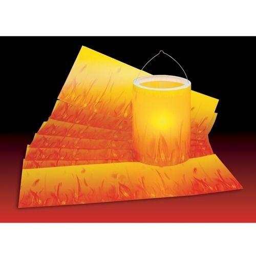 Feuer-Transparentpapier