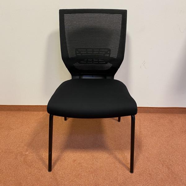 2. Wahl Stuhl Stoff schwarz