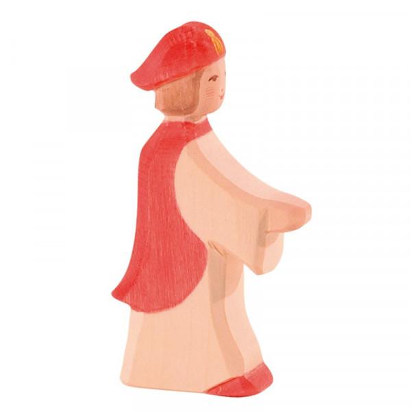 Ostheimer Krippenfigur Sternsinger rot