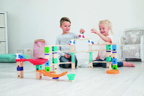 Kugelbahn Quadrilla XXL Kindergarten-Set