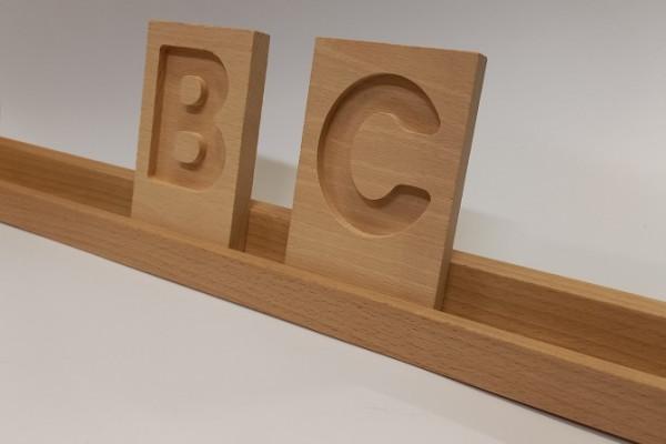 Buchstabenleiste