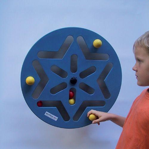 Wandspiel Stern / Blue Star