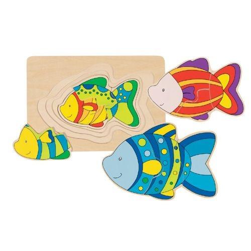 """Schichten-Puzzle """"Fisch"""""""