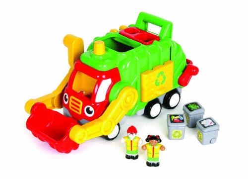 "Recycling-Müllwagen ""Flip & Tip Fred"""